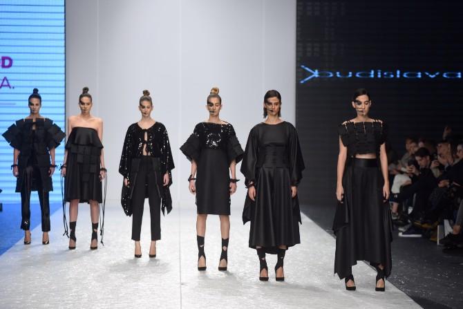 budislava Revije istaknutih domaćih autora obeležile treće veče 42. Belgrade Fashion Week a