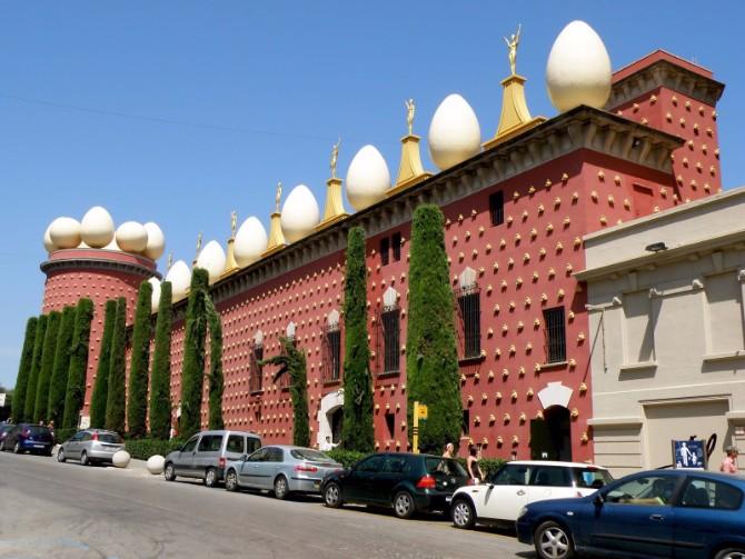 dali muzej 1 Muzeji koje treba da posetiš: Teatar muzej Salvadora Dalija