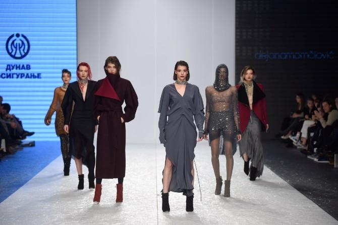 dejana Revije istaknutih domaćih autora obeležile treće veče 42. Belgrade Fashion Week a