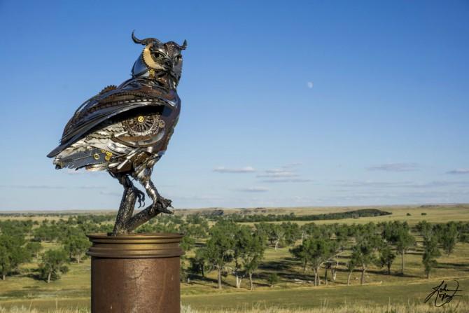 dzon lopez skulptura 1 Neverovatne skulpture od metala