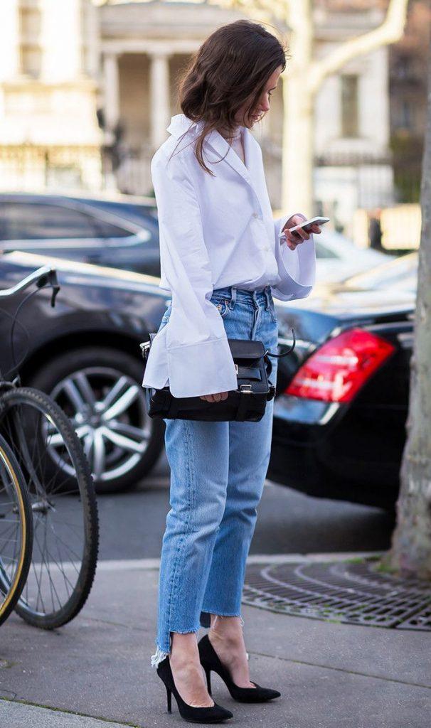 farmerke 606x1024 6 kombinacija sa džinsom za dane kada ne znaš šta da obučeš