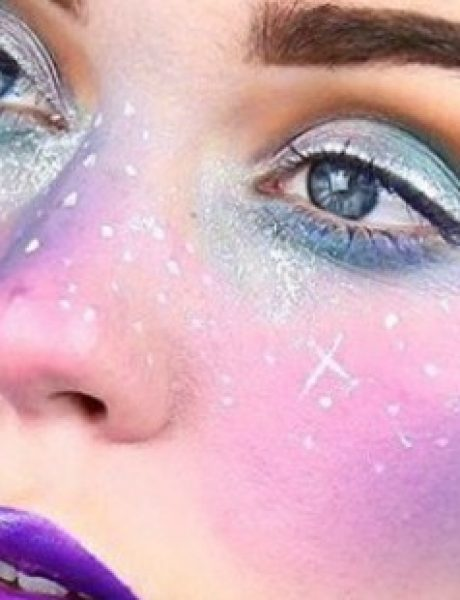 Čarobno i neobično: Galaxy pege su novi makeup trend