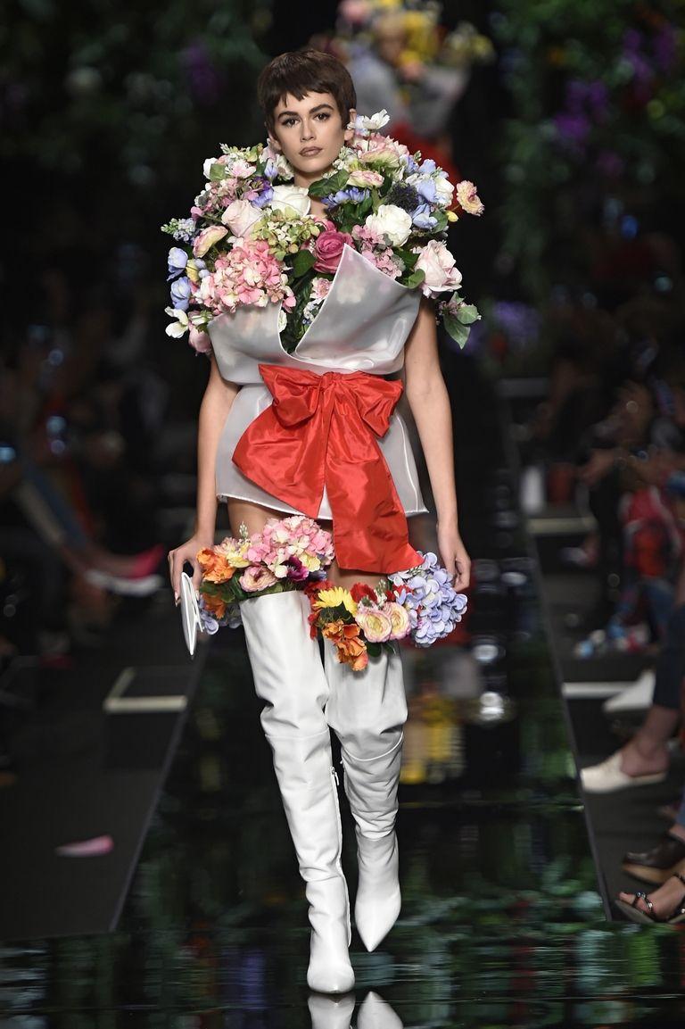 kaja gerber moschino mfw Njujork, London, Milano, Pariz: Najbolji momenti sa Nedelja mode (2. deo)