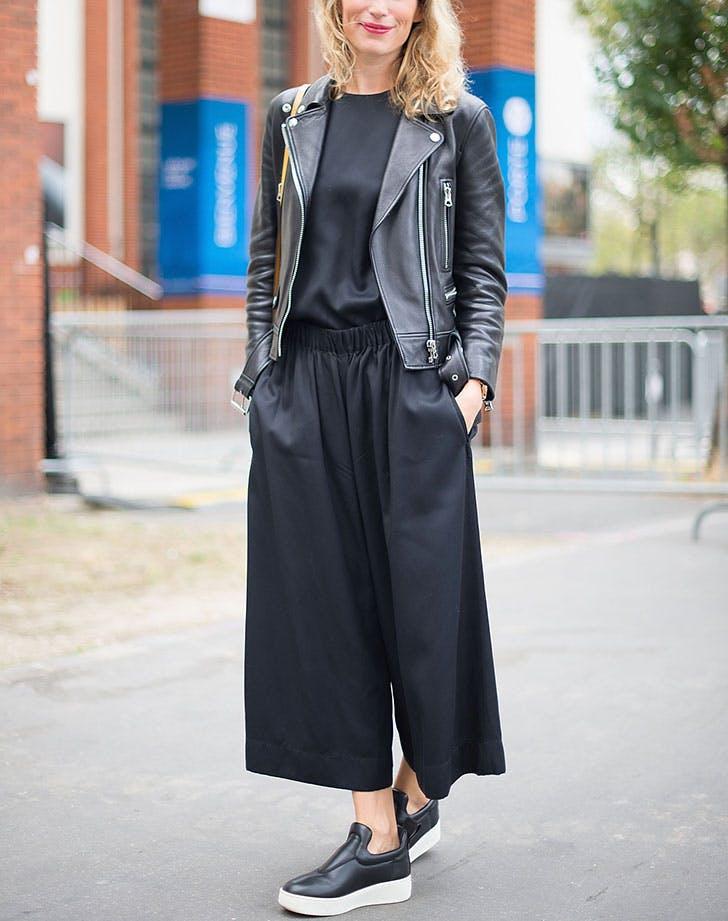 kožna jakna all black 8 načina da nosiš kožnu jaknu kao Njujorčanka