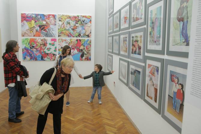 kućalegata Wiener Städtische osiguranje predstavlja kolekciju savremenih umetničkih dela