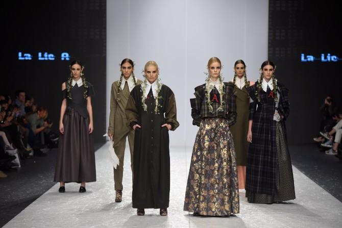lalic Revije istaknutih domaćih autora obeležile treće veče 42. Belgrade Fashion Week a