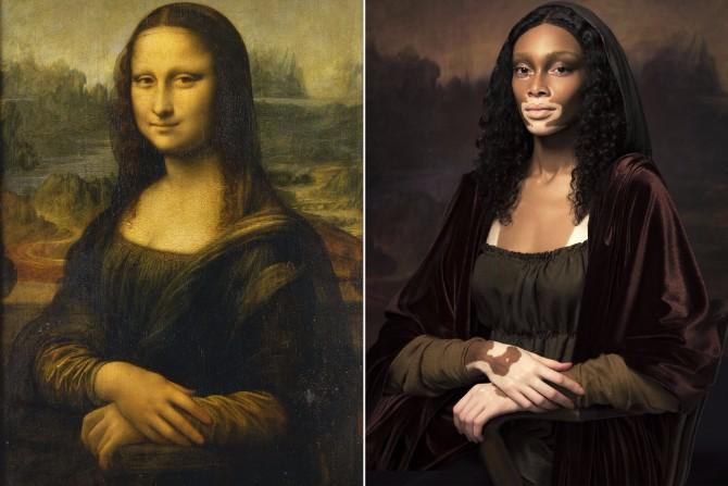 lepota umetnosti 4 Lepota umetnosti: Top modeli rekreirali najpoznatija umetnička dela
