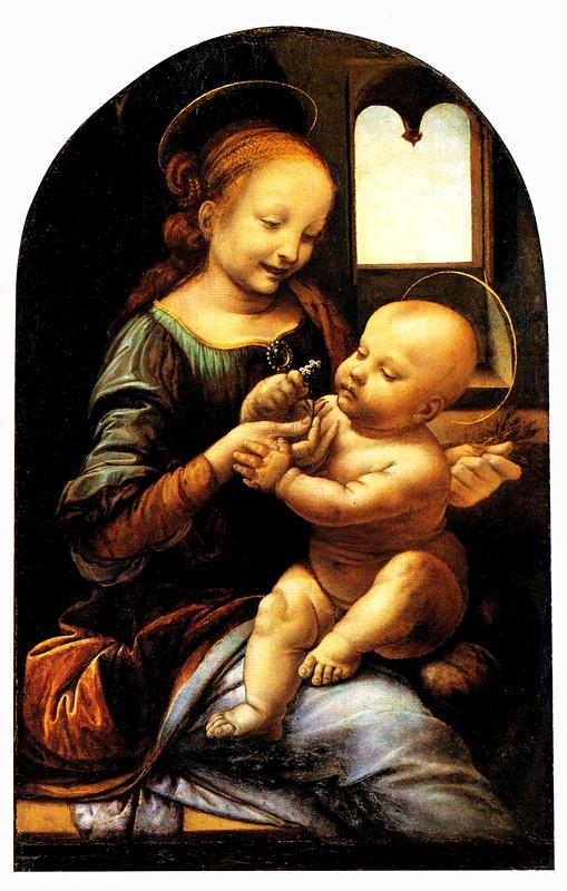madonna and child with flowers Muzeji koje treba da posetiš: Ermitaž (2. deo)
