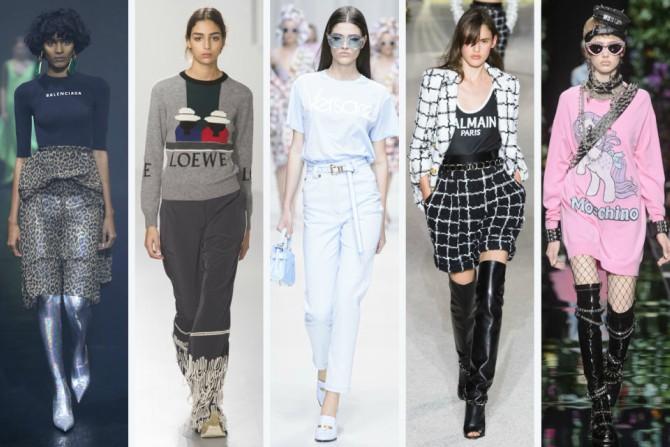 moda 2 Top 8 trendova sa modnih pisti za proleće 2018