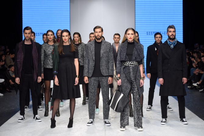 sisters Revije istaknutih domaćih autora obeležile treće veče 42. Belgrade Fashion Week a