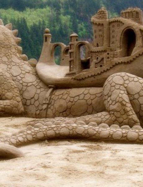 Umetnost ne zna za granice: neverovatne skulpture od peska