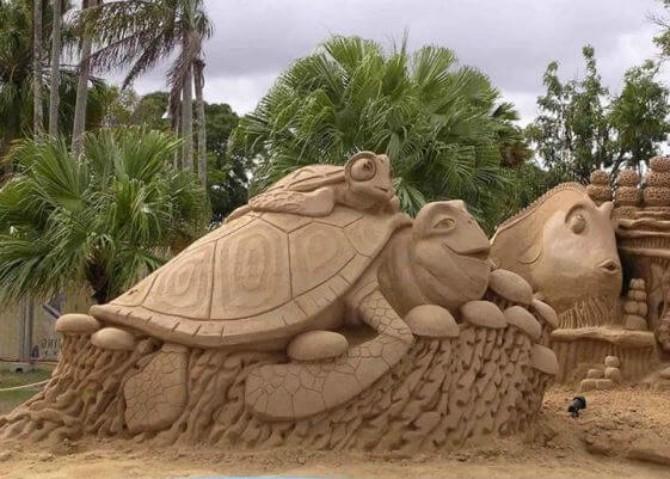 skulptura od peska1 Umetnost ne zna za granice: neverovatne skulpture od peska