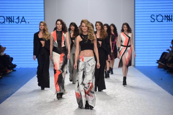 sonja Revije istaknutih domaćih autora obeležile treće veče 42. Belgrade Fashion Week a
