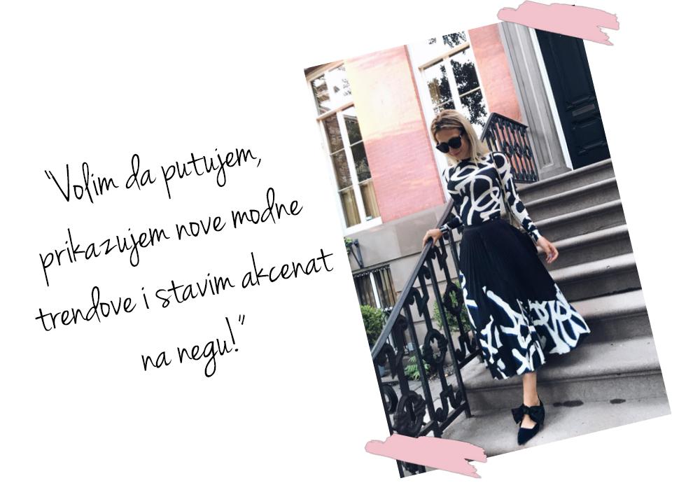 stasa 1 Anastasija Đurić ti otkriva kako da uzmeš vreme za sebe i postaneš nova ambasadorka Vichy Slow Age linije