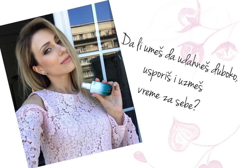 stasa 2 Anastasija Đurić ti otkriva kako da uzmeš vreme za sebe i postaneš nova ambasadorka Vichy Slow Age linije