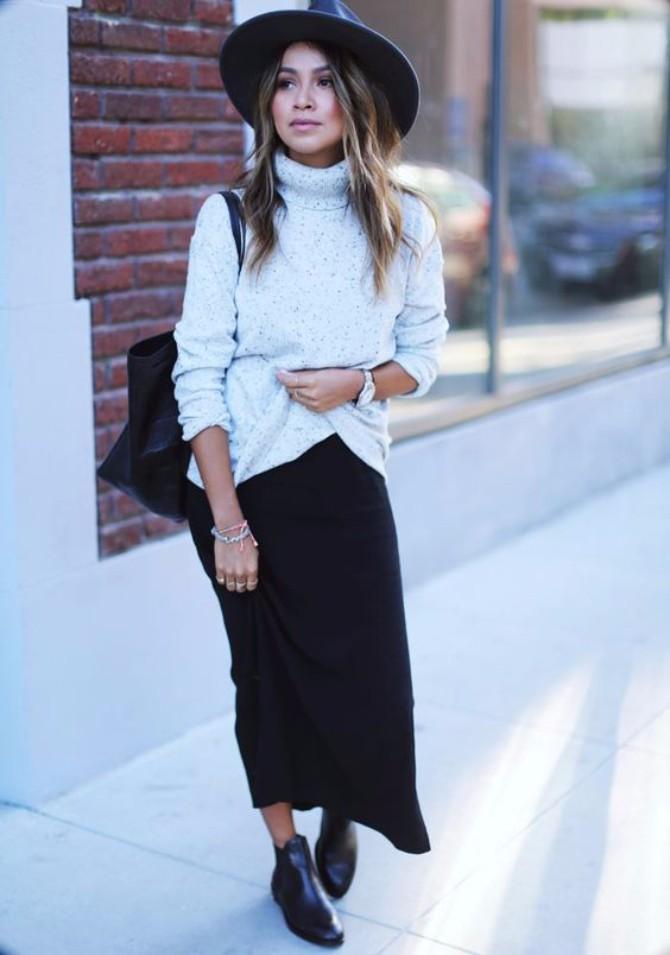 suknja i rolka Stylish načini da nosiš rolku ove jeseni