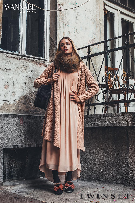Drugi stajling Twinset 1 #Layering trikovi: Kako da haljinu prilagodiš jesenjem stajlingu