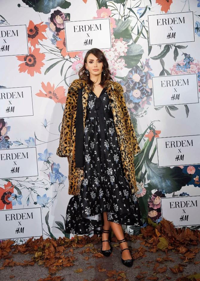 Emina Jahović Čaroban svet ERDEM x H&M kolekcije stigao i u Srbiju