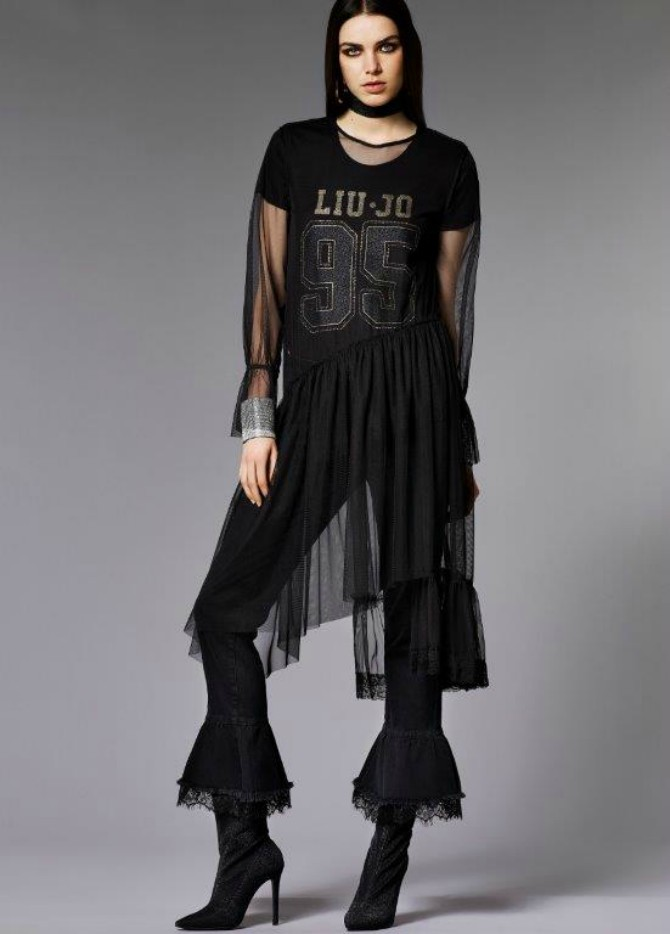 Look 06 0922 LIU WHITE LABEL linija inspirisana duetom Lady Gage & Tony Bennetta