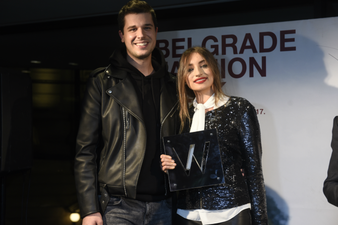 Miomir Milic Nadezda Dimitrijevic 42. Belgrade Fashion Week: Dodela nagrada u glamuroznom restoranu Credo