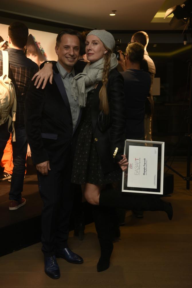 Nenad Radujevic MarijaTarlac 42. Belgrade Fashion Week: Dodela nagrada u glamuroznom restoranu Credo