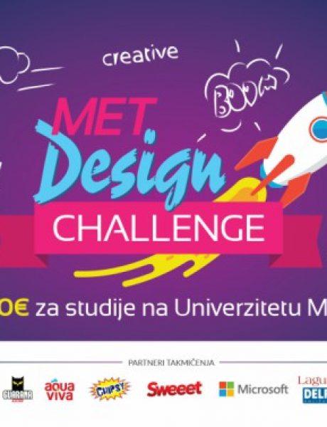 """Takmičenje za srednjoškolce iz oblasti dizajna """"MET Design Challenge"""" na Univerzitetu Metropolitan"""