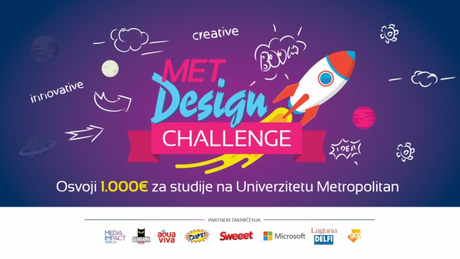 Takmičenje za srednjoškolce iz oblasti dizajna MET Design Challenge na Univerzitetu Metropolitan Takmičenje za srednjoškolce iz oblasti dizajna MET Design Challenge na Univerzitetu Metropolitan