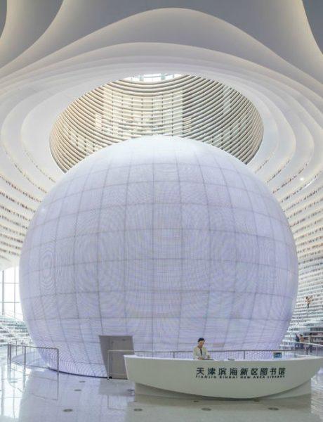 Novo svetsko čudo: Futuristička biblioteka u Kini neobičnog enterijera