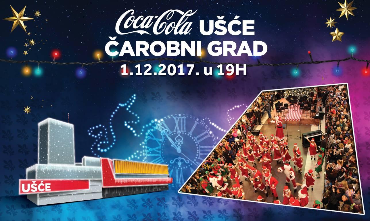 coc cola Coca Cola UŠĆE Čarobni grad otvara vrata 1. decembra
