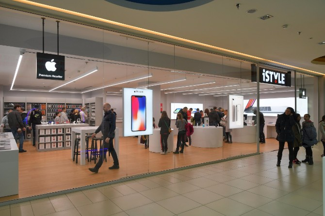 iStyle Apple Premium Reseller Usce 2 Redizajniran iStyle u Ušću oduševio posetioce