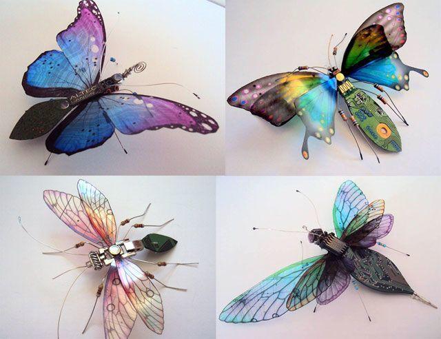 kompjuter leptir Naučno fantastična umetnost   kad bagovi izlete iz kompjutera