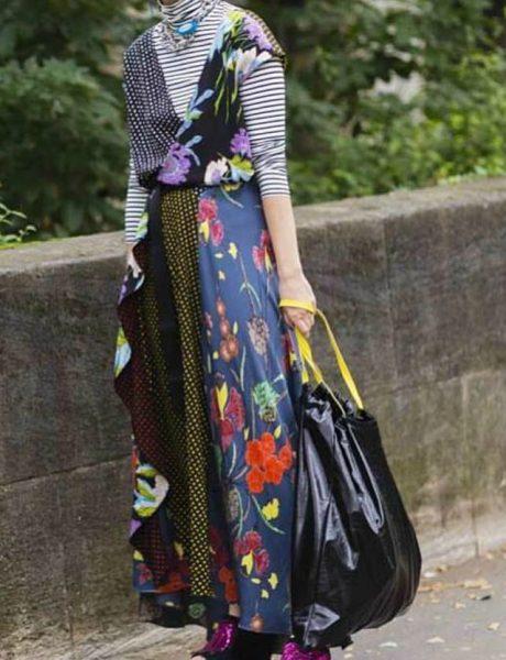 Maštovito, hrabro ili ludo: Kesa za smeće je postala modni aksesoar
