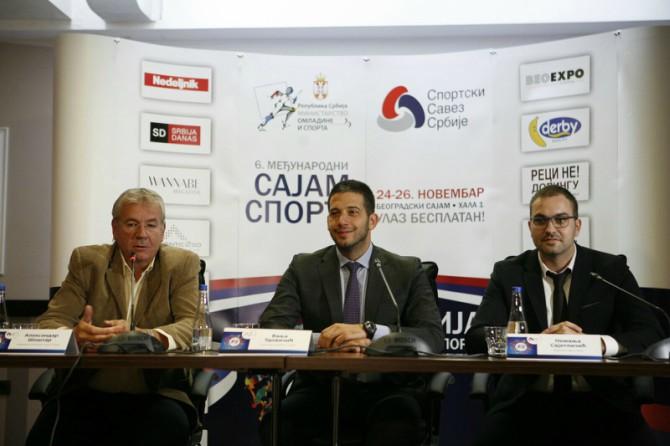 sajam sporta 1 Sajam sporta od 24. do 26. novembra na beogradskom sajmu