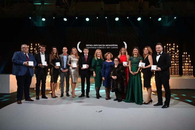 Dobitnici SAM Godisnjih nagrada Prestižno priznanje SAM Godišnje nagrade u rukama najboljih