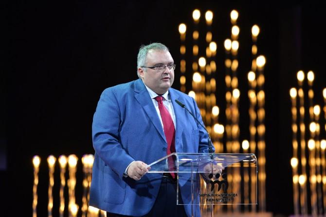 Menadžer godine 2017 Dragoljub Damljanović Energy Field Services VP SEE Schneider Electric Prestižno priznanje SAM Godišnje nagrade u rukama najboljih