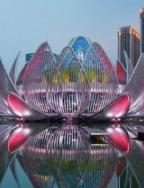 Čuda savremene arhitekture – Lotos zgrada u Kini