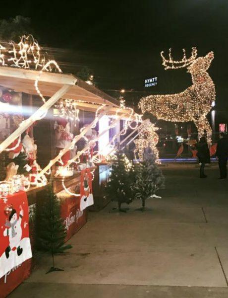 Praznična euforija na Christmas Platzu ispred Ušća
