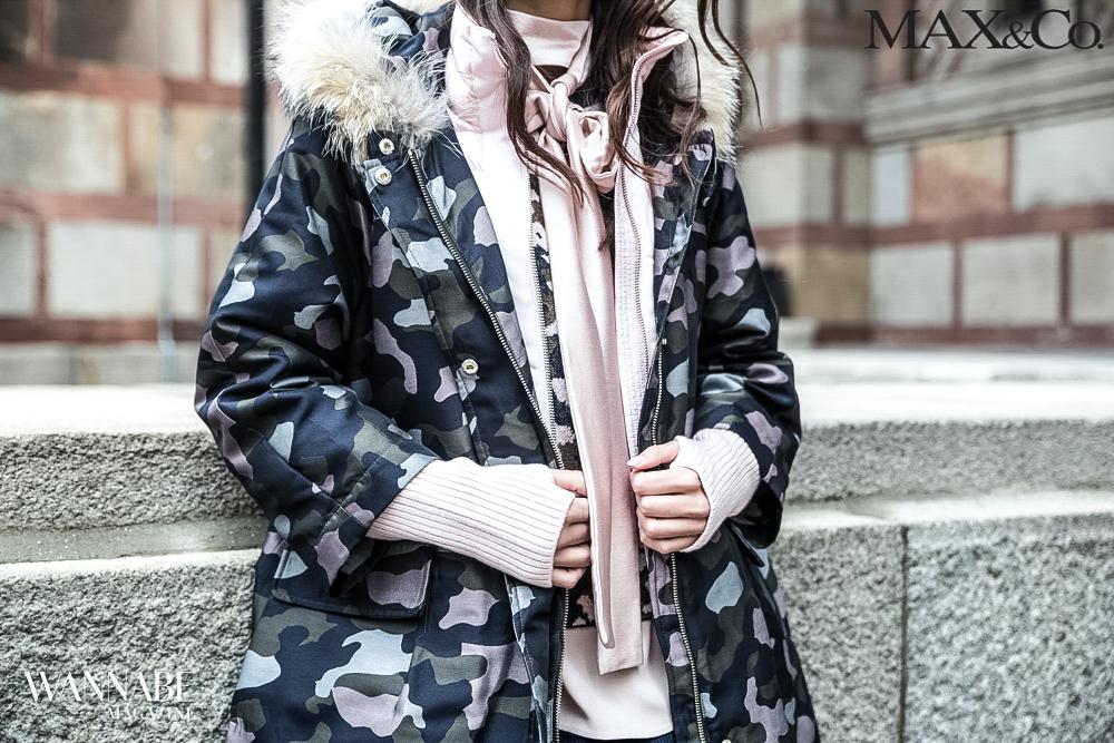 maxco5 Military stil nikada nije izgledao   ženstvenije!