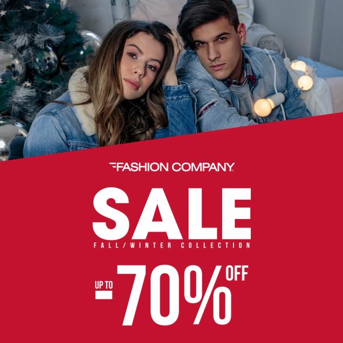 670 3 Početak sezonskih sniženja u prodavnicama Fashion Company  do 70%