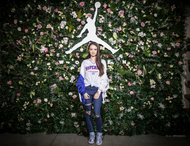 Blogerka Jana Dacovic Prva Air Jordan 1 kolekcija za žene stigla u Tike shop