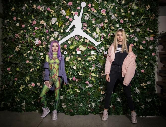 Blogerke Kristina Micic i Anastasija Grujic Prva Air Jordan 1 kolekcija za žene stigla u Tike shop