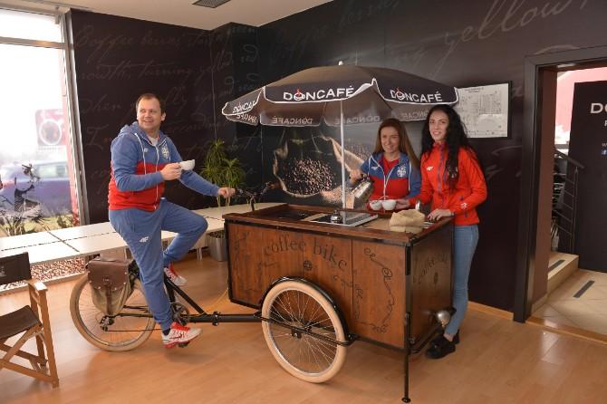 Potipisvanje ugovora DM Doncafé zvanična kafe Olimpijskog tima Srbije