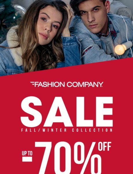 Početak sezonskih sniženja u prodavnicama Fashion Company- do 70%