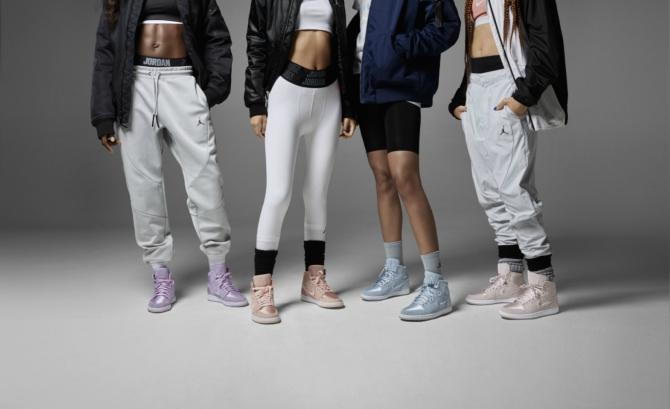nike cv 670 Prva Air Jordan 1 kolekcija za žene stigla u Tike shop