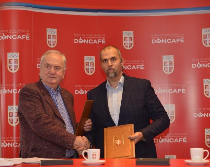 ugovor Doncafé zvanična kafe Olimpijskog tima Srbije
