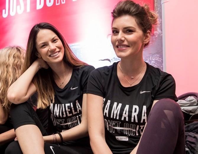 DANIJELA DIMITROVSKA I TAMARA DRAGICEVIC Nike Metcon 4 može podneti svaku vrstu napora