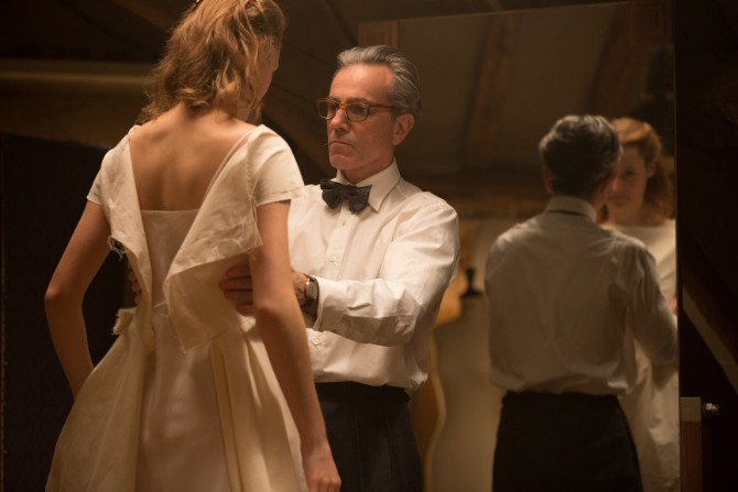 Fantomska nit Dodeljene BAFTA nagrade