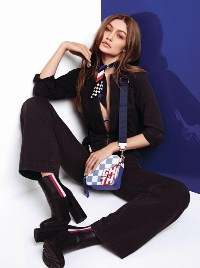 TH SS18 TommyXGigi Lookbook Look07 Gigi Hadid prolećna kapsula kolekcija za Tommy Hilfiger