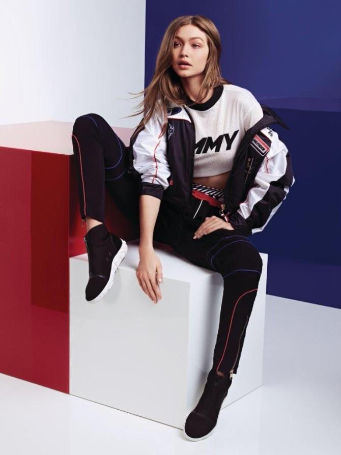 TH SS18 TommyXGigi Lookbook Look11 Gigi Hadid prolećna kapsula kolekcija za Tommy Hilfiger