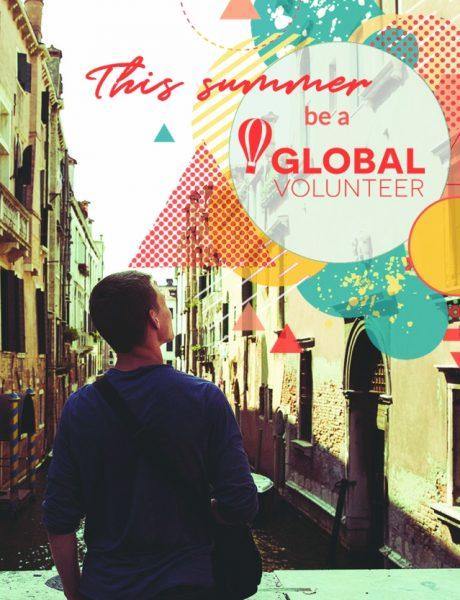 Provedi leto učestvujući u programu Global Volunteer!